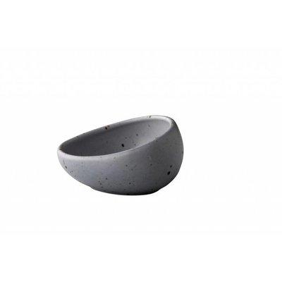 Q Authentic kom schuin Tinto grey 8,5 cm