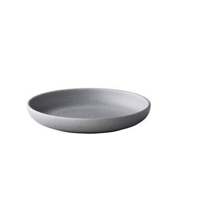 Q Authentic Bord diep Tinto grey Ø 23,5 cm doos à 6