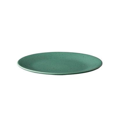 Q Authentic bord Tinto green 28 cm doos a'6