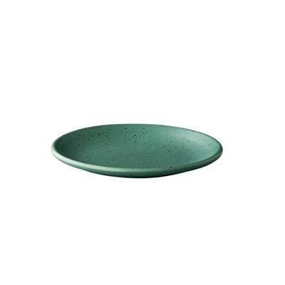 Q Authentic Tinto bord rond mat groen Ø15 cm