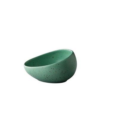 Q Authentic Tinto kom schuin Ø 8,5 cm mat groen 11,9 cl doos a'6