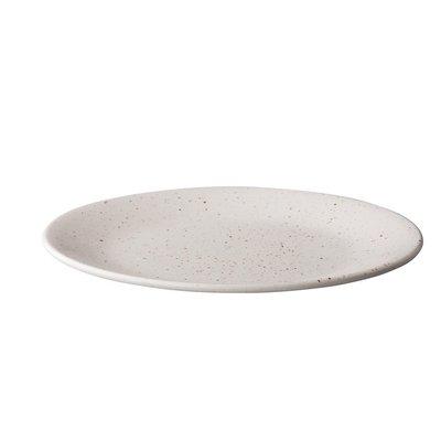 Q Authentic Tinto bord rond mat wit Ø28 cm doos a'6