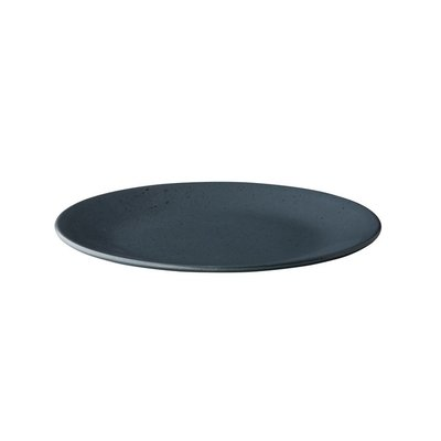 Q Authentic Tinto bord rond mat donkergrijs 28 cm QU65001