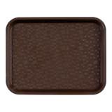 Dienblad polypropyleen 345x265mm bruin