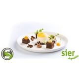 Bagastro bord Ø20cm krimp à 40 stuks