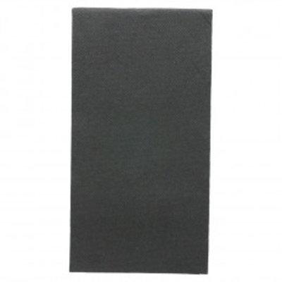 Garcia de Pou servet zwart 40x40cm 1/8-vouw doos à 1200