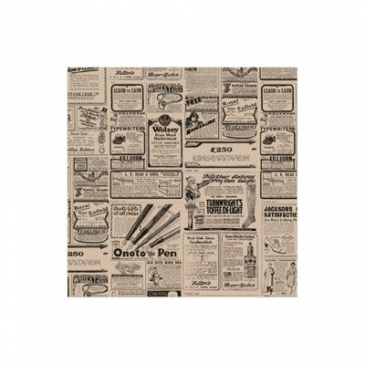 Vetvrij papier 31x31cm Times kraft pak à 1000 34 grams
