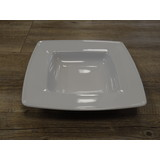 Renaud square pastabord diep 23x23cm 0.40ltr.doos à 6 wit hard hotelporselein