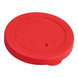 Deksel schaal Ø11,5cm rood siliconen