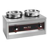 Max Pro Chocolade warmer 2 pannen 330W 230V