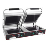 Caterchef keramische contactgrill Duo-Compact (glad/glad)