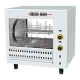Kippengrill elektrisch rvs (16 kippen) 400V 4500W