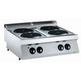 Combisteel kooktoestel4 pits elektrisch 400 Volt