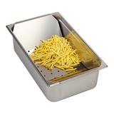 Frites uitschepbak rvs 1/1GN 15(H)x53x32,5cm
