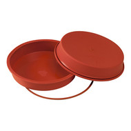 Uniflex taartvorm silicone glad Ø24cm H4cm