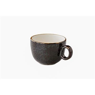 Q Jersey Latte koffiekop stapelbaar donkerbruin 350ml doos à 6