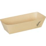 Depa kroketbakje A5 bruin bamboe papier doos à 400 13,4x7,2x3,5(h)cm