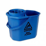 Mopemmer tbv spaanse mop m/uitwringer opzet kleur blauw