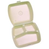 Menubox EPS 3 vaks 24x21x7,0(h)cm beige doos à 250 stuks