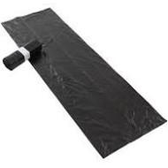 Afvalzak 50/20x125x0,018 120ltr zwart pak à 30 stuks