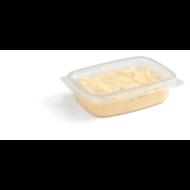 Saladebak/cup transparant PP 108x8,2x2(h)mm 125cc pak à 100 stuks filet american bakje