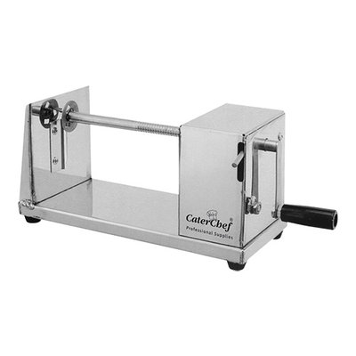 Aardappel spiraal snijmachine rvs 15(H)x30x15cm