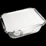 Bak aluminium 400cc inclusief deksel karton pak à 25