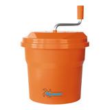 Dynamic slacentrifuge 10ltr oranje kunststof H40cm.