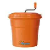 Dynamic slacentrifuge 20ltr oranje kunststof H50cm