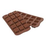 Easy Chocoladevorm 22x11cm type A Cubo