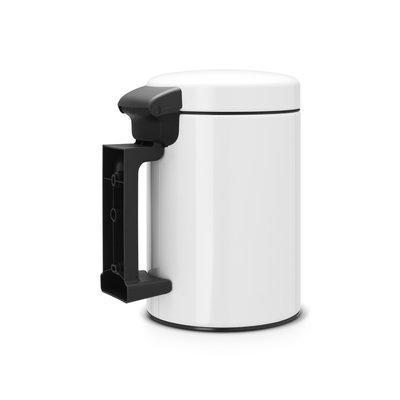 Afvalbak 3 liter wit wandmodel merk Brabantia