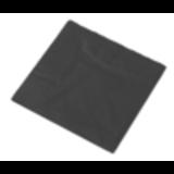 Servet zwart 33x33cm 2 laags 1/4 vouw pak á 50 stuks