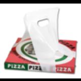 Draagtas wit t.b.v. pizzadoos pak à 1000