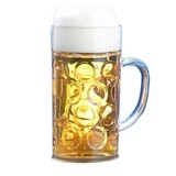 Safety polycarbonaat bierpul 1 liter doos à 30 stuks