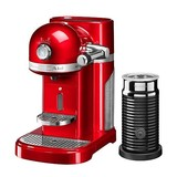 Kitchen Aid Nespresso Empire red + Aeroccino 5KES0504EER/3NL