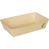 Depa bakje A9 bruin bamboe papier doos à 100 15x11,8x3,5(h)cm