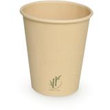 Koffiebeker bamboe paper 350ml pak à 50