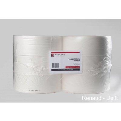 Toiletpapier Jumborol 100% Cellulose à 6 maxi à 500mtr