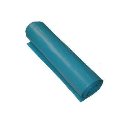Afvalzak Z90x110x0.025 blauw LDPE rol à 25
