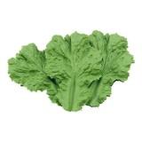 Decoratie groen slablad 16st