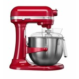 Kitchen Aid mixer 5KSM Heavy duty 6,9 liter Keizer rood