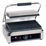 Caterchef contactgrill Solo grande boven/onder gegroefd