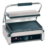 Caterchef contactgrill solo grande boven gegroefd onder glad // 230V  2200W