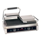 Caterchef contactgrill Duetto compact 230V3600W