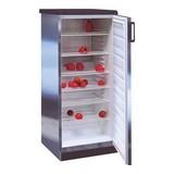 Exquisit koelkast m/rvs mantel 145(H)x60x60cm 290ltr 230V 150W