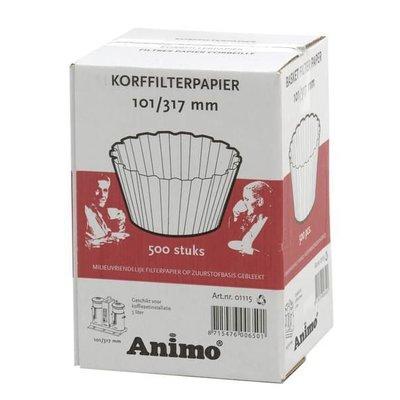 Animo korffilter 101/317mm DE5 doos à 500 stuks