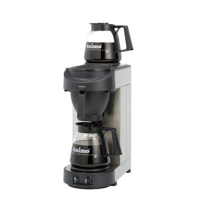 Animo M100 koffiezetapparaat zwart front
