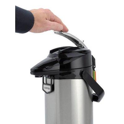 Animo Airpot pompthermoskan 2,1 ltr.m/ rvs binnenfles