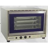 Euromax heteluchtoven m/grill  3,4Kw 230V BN 2 ventilatoren // m/linksdraaiende deur