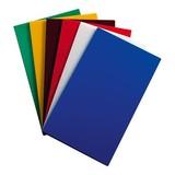 Snijblad gekleurd set à 6 500x300x15mm